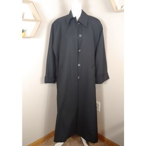 Vintage Christian Dior Wool Long Button Overcoat